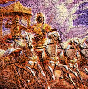 Krishna+Arjuna